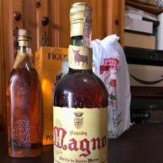 Coleccionismo de vinos y licores: BRANDY MAGNO OSBORNE 4 PTS . Lote 143977190