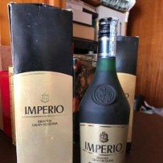 Coleccionismo de vinos y licores: BRANDY TERRY IMPERIO GRAN RESERVA 8 PTS (CON ESTUCHE). Lote 143980970