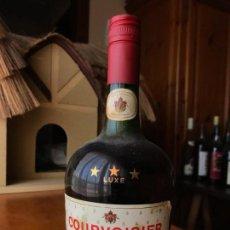 Coleccionismo de vinos y licores: COGNAC COURVOISIER LUXE 3 ESTRELLAS. Lote 143982022