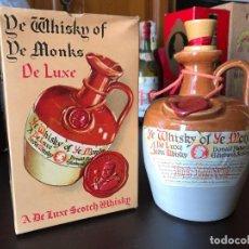 Coleccionismo de vinos y licores: WHISKY OF DE MONKS. Lote 143984174
