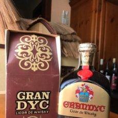 Coleccionismo de vinos y licores: BOTELLA LICOR DE WHISKY GRAN DYC.. Lote 143987438
