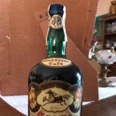 Coleccionismo de vinos y licores: BOTELLA CREMA DE CAFÉ JOSE BARCELO ALEMAN, ALGEZARES (MURCIA) PRECINTO 4PTS. Lote 143988430