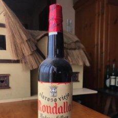 Coleccionismo de vinos y licores: BOTELLA ANTIGUA VINO OLOROSO VIEJO RONDALLA. Lote 143990138