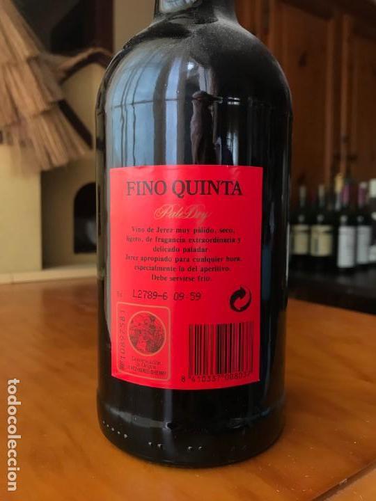 Coleccionismo de vinos y licores: Botella Fino Quinta Osborne - Foto 3 - 143990010