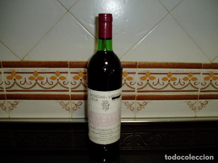VINO TINTO VEGA SICILIA COSECHA 1975 (Coleccionismo - Botellas y Bebidas - Vinos, Licores y Aguardientes)