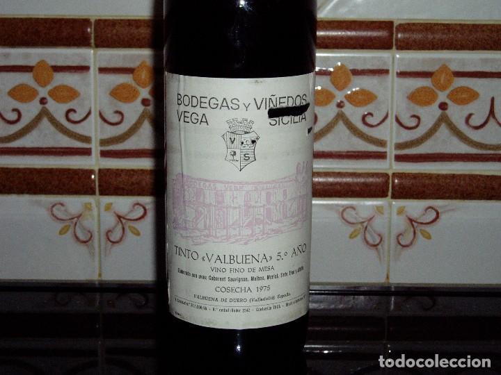 Coleccionismo de vinos y licores: Vino Tinto Vega Sicilia cosecha 1975 - Foto 2 - 144846770