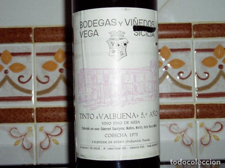 Coleccionismo de vinos y licores: Vino Tinto Vega Sicilia cosecha 1975 - Foto 3 - 144846770