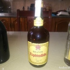 Coleccionismo de vinos y licores: BOTELLA DE BRANDY ESPLÉNDIDO SIN ABRIR SELLO 4 PTAS MIREN FOTOS . Lote 145993438