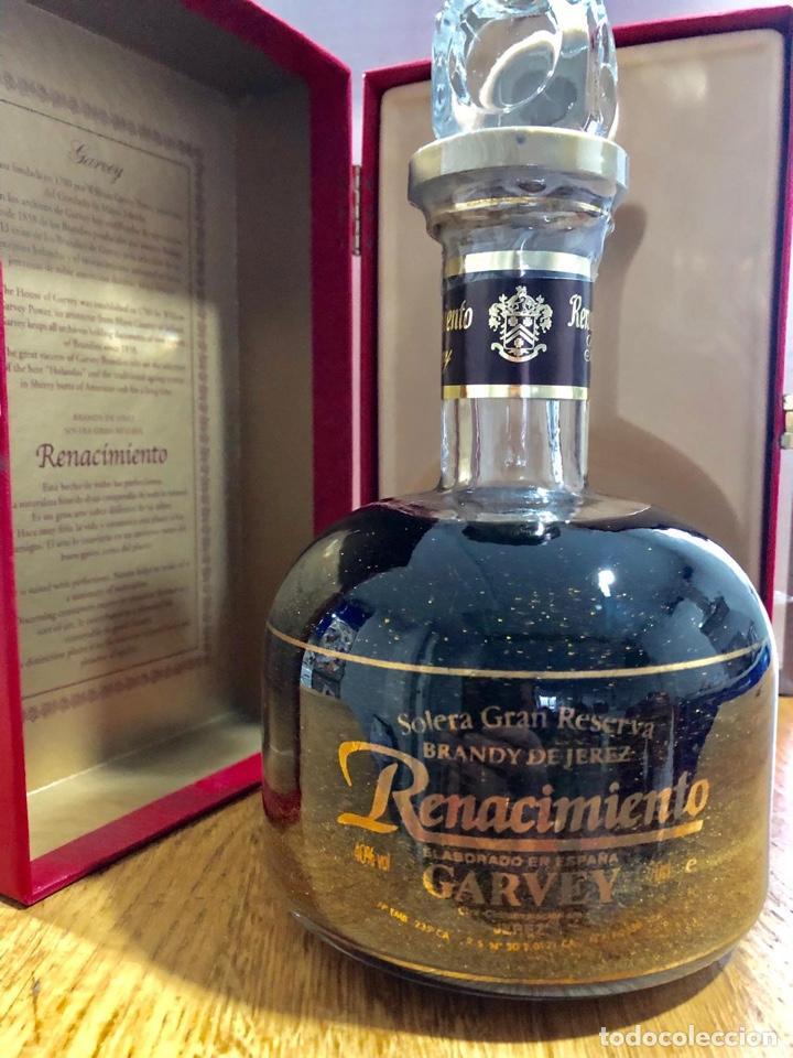 Coleccionismo de vinos y licores: Brandy renacimiento aurum. Edicion especial - Foto 4 - 146313134