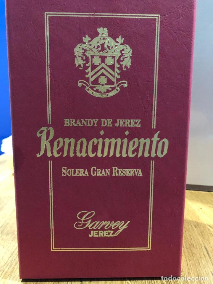 Coleccionismo de vinos y licores: Brandy renacimiento aurum. Edicion especial - Foto 5 - 146313134