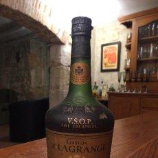 Coleccionismo de vinos y licores: ANTIGUA BOTELLA 0,70 L. SIN DESPRECINTAR DE COGNAC GASTON DE LAGRANGE V.S.O.P. FINE CHAMPAGNE. Lote 147106222