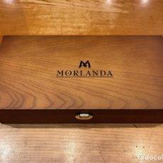 Coleccionismo de vinos y licores: VINO - MORLANDA, PRIORAT, 2000 - ESTUCHE MADERA 2 BOTELLAS. Lote 147210286