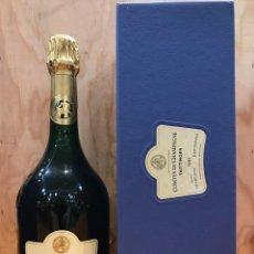 Collezionismo di vini e liquori: TAITTINGER COMTES DE CHAMPAGNE BRUT BLANC DE BLANCS - 1995 - ESTUCHE. Lote 147221762