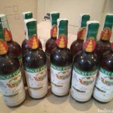 Coleccionismo de vinos y licores: PONCHE ESPAÑOL 10BOTELLAS SELLO 8PTS. Lote 147512418