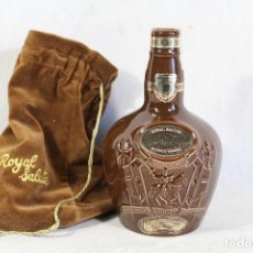Coleccionismo de vinos y licores: BOTELLA CHIVAS 21 YEARS ROYAL SALUTE SCOTCH WHISKY . Lote 147818350