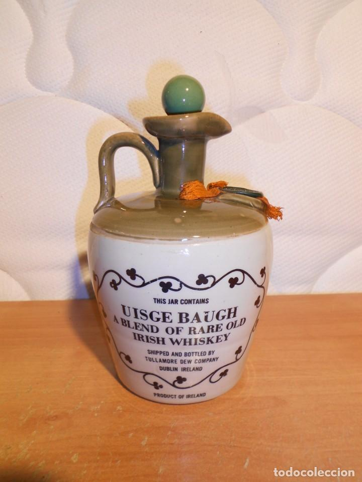 BOTELLA WHISKY TULLAMORE (Coleccionismo - Botellas y Bebidas - Vinos, Licores y Aguardientes)