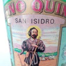 Coleccionismo de vinos y licores: BOTELLA VINO QUINA -SAN ISIDRO -. Lote 148652090