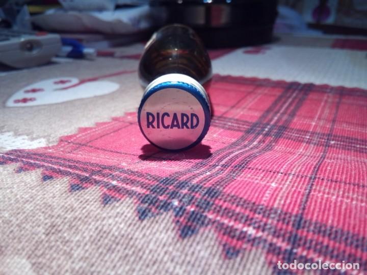 Coleccionismo de vinos y licores: BOTELLITA BOTELLIN LICOR ANISE APERITIF RICARD 45 LE VRAI PASTIS - Foto 4 - 148807742