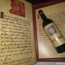Coleccionismo de vinos y licores: ROMÁN PALADINO RIOJA BODEGAS MARQUÉS DEL PUERTO, FUENMAYOR /GRAN RESERVA 1970. Lote 236993410