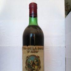 Coleccionismo de vinos y licores: BOTELLA LLENA VINO TINTO TIO DE LA BOTA 5° AÑO RESERVA ESPECIAL COSECHA 1973 TAPON DE CORCHO. Lote 149815218