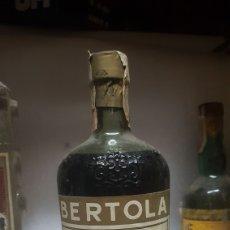 Coleccionismo de vinos y licores: BOTELLA DE BRANDY BERTOLA TAPON DE CORCHO. Lote 149845570