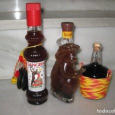Coleccionismo de vinos y licores: 3 BOTELLAS DE SANGRIA. Lote 150199986