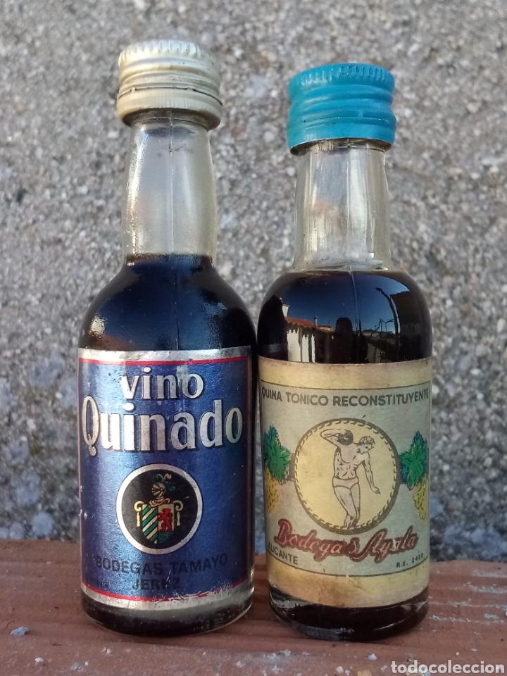 BOTELLITAS QUINA (Coleccionismo - Botellas y Bebidas - Vinos, Licores y Aguardientes)