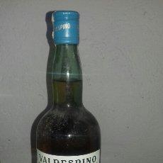 Coleccionismo de vinos y licores: VALDESPINO BRANDY SELLO AZUL. Lote 150810184