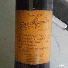 Coleccionismo de vinos y licores: TINTO DON RAMON 1997''. Lote 151486962
