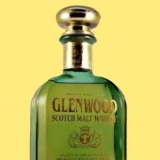 Coleccionismo de vinos y licores: GLENWOOD WHISKY, SCOTCH 100% PURE MALT- 70 CL. DRUMGUISH DESTILLERY - 40% VOL. PRECINTADO-CON REGALO. Lote 151981486