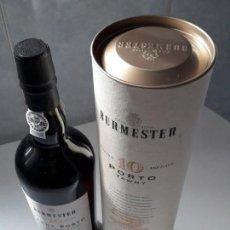Coleccionismo de vinos y licores: BOTELLA BURMESTER VINO DE PORTO 1O AÑOS. Lote 152276386