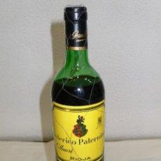 Coleccionismo de vinos y licores: BOTELLA VINO PATERNINA GRAN RESERVA 1973. Lote 152650062