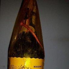 Coleccionismo de vinos y licores: ANTIGUA BOTELLA DE BRANDY SUAU. Lote 152836506