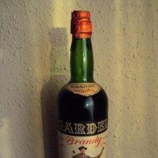 Coleccionismo de vinos y licores: (LI-190235)BOTELLA DE BRANDY GARDEL - DISTILERIAS PALOMAS - MANRESA - SIN ABRIR. Lote 152851438