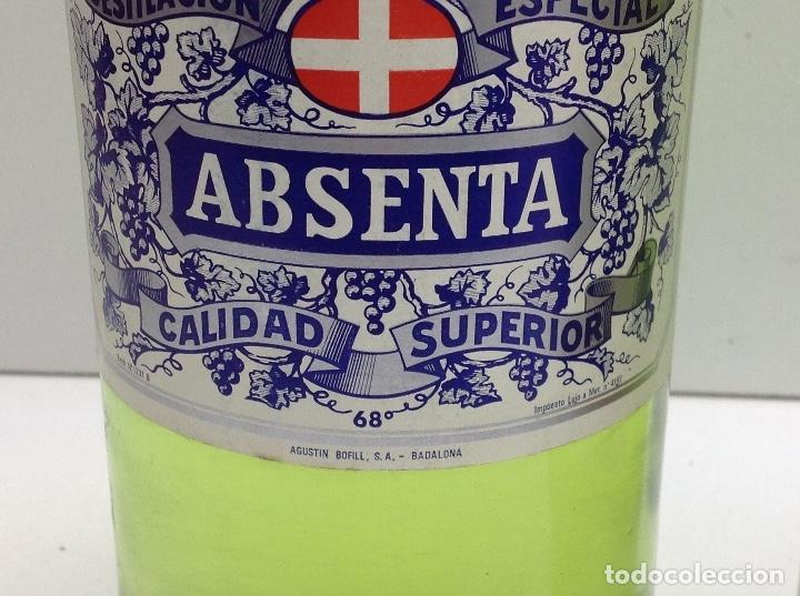 Coleccionismo de vinos y licores: LOTE BOTELLAS DE ABSENTA - ABSINTHE - AGUSTI BOFILL S.A. BADALONA 68º - DEVA PALAU DE PLEGAMANS 50º - Foto 3 - 153066572