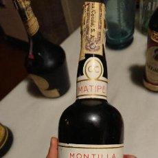 Coleccionismo de vinos y licores: ANTIGUA BOTELLA DE LICOR VINO FINO CRUZ CONDE CÓRDOBA MONTILLA SIN ESTRENAR AÑOS 70-80. Lote 153250410