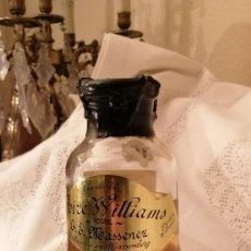 Coleccionismo de vinos y licores: EAU DE VIE POIRE WILLIAMS. MASSENEZ 1980S. Lote 153395706