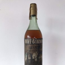 Coleccionismo de vinos y licores: BOTELLA BRANDY DUFF GORDON AÑOS 60. Lote 153501290