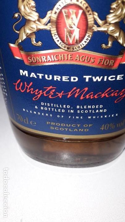 Coleccionismo de vinos y licores: WHITE AND MACHAY SCOTCH WHISKY - Foto 2 - 153801194
