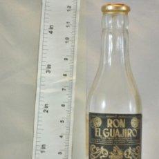 Coleccionismo de vinos y licores: BOTELLITA BOTELLIN RON EL GUAJIRO COOPERATIVA CANARIA DE AGUARDIENTES COCAL . Lote 154445070