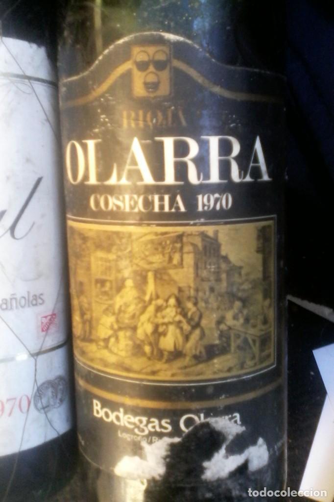 RIOJA OLARRA - 70 . (Coleccionismo - Botellas y Bebidas - Vinos, Licores y Aguardientes)