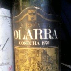 Coleccionismo de vinos y licores: RIOJA OLARRA - 70 .. Lote 155141042