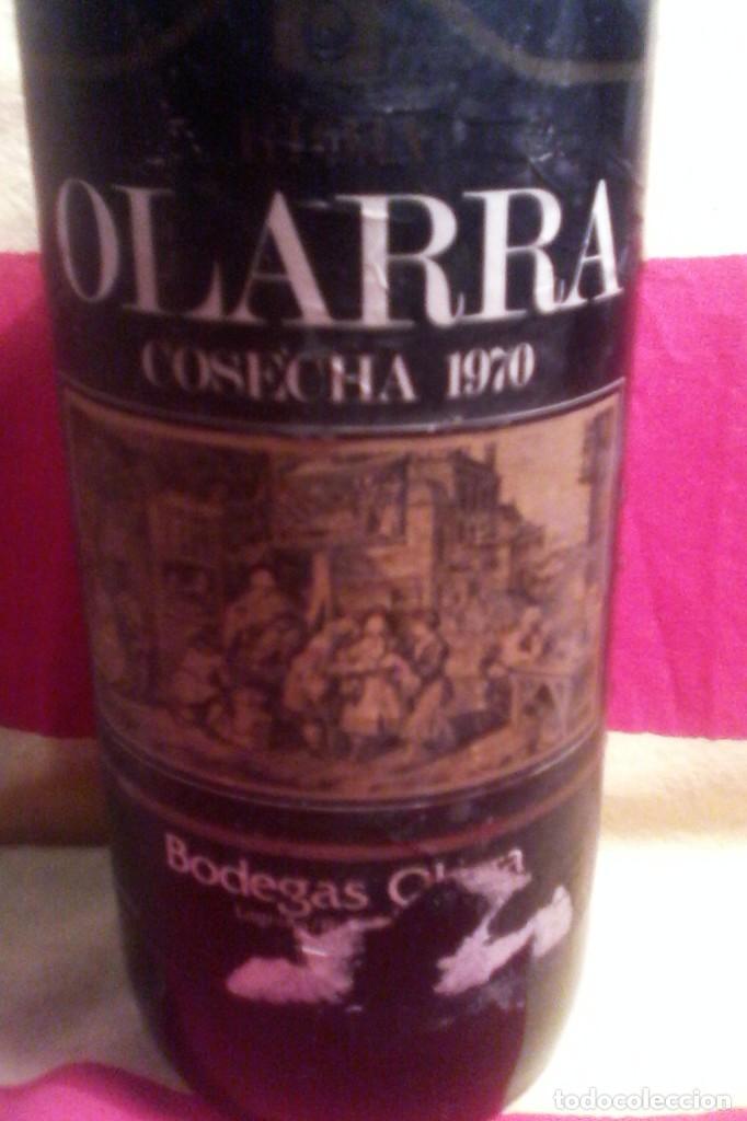 Coleccionismo de vinos y licores: RIOJA OLARRA - 70 . - Foto 2 - 155141042