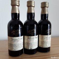 Coleccionismo de vinos y licores: BOTELLINES, MINIATURAS BODEGAS GARVEY. Lote 155299614