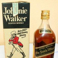 Coleccionismo de vinos y licores: BOTELLA 1.875 L. JOHNNIE WALKER EXTRA SPECIAL. BLACK LABEL. AÑO 70S. . Lote 155759478