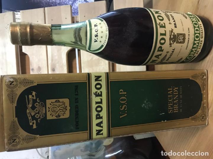 BRANDY NAPOLEON COMMODORE (Coleccionismo - Botellas y Bebidas - Vinos, Licores y Aguardientes)