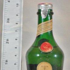 Coleccionismo de vinos y licores: BOTELLITA BOTELLIN DOM LIQUEUR BRANDY BENEDICTINE S.A. FECAMP FRANCE. Lote 155865826