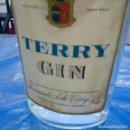 Coleccionismo de vinos y licores: TERRY GIN, PUERTO SANTA MARÍA , CADIZ, VER FOTOS.. Lote 157799818