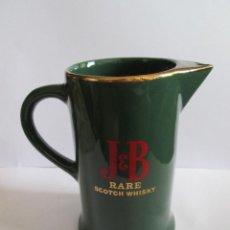 Coleccionismo de vinos y licores: JARRA JB RARE SCOTCH WHISKY - 17 CM ALTURA 11 CM BASE. Lote 157914294