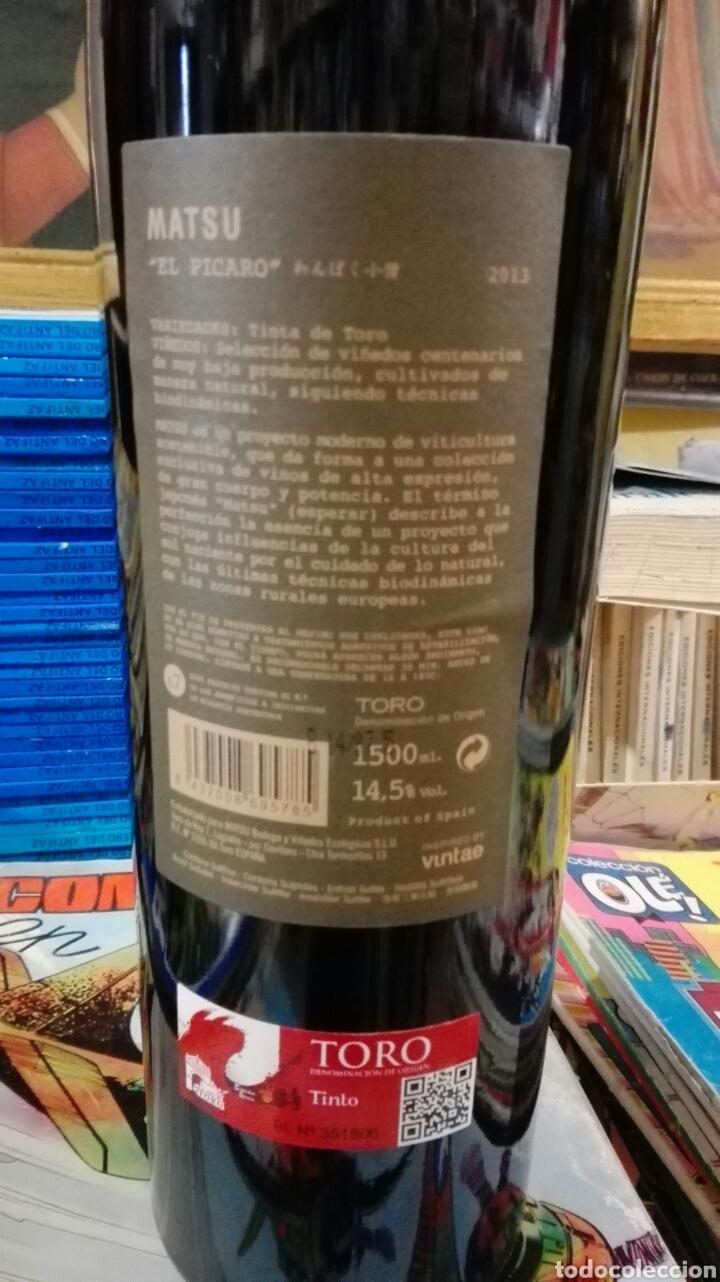 Coleccionismo de vinos y licores: 3 botellas magnum de 1,5L el picaro 2013 - Foto 3 - 158135520